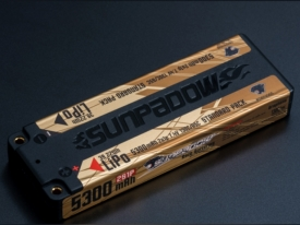 POWERS S653065 SUNPADOW 7.4V / 5300mAh / 130C リポバッテリー(LCG)