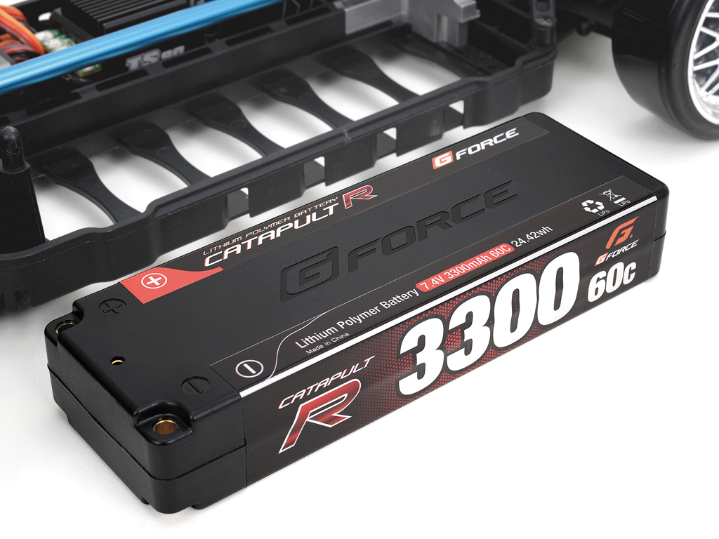 G-FORCE GE009 Catapult R LiPoバッテリー 7.4V 4200mAh 60C