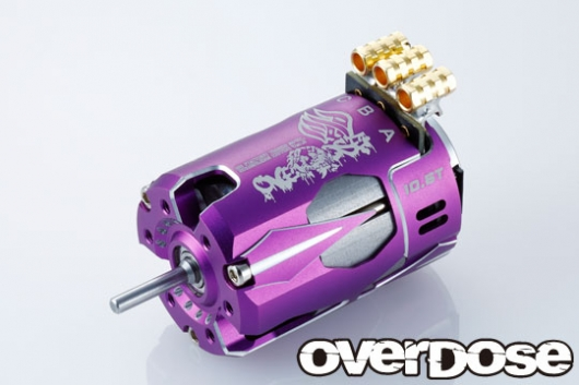 6/15up! OVER DOSE OD2602 奉仕価格 OD Factory Tuned Spec. Brushless Motor Ver.3 6.5T (パープル)
