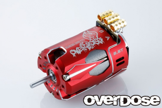 OVER DOSE OD2603 OD Factory Tuned Spec. Brushless Motor Ver.3 6.5T (レッド)