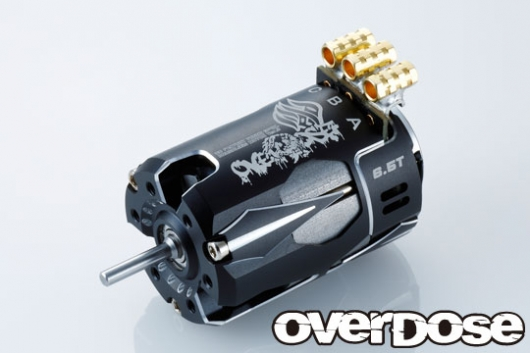 OVER DOSE OD2604 OD Factory Tuned Spec. Brushless Motor Ver.3 6.5T (ブラック)
