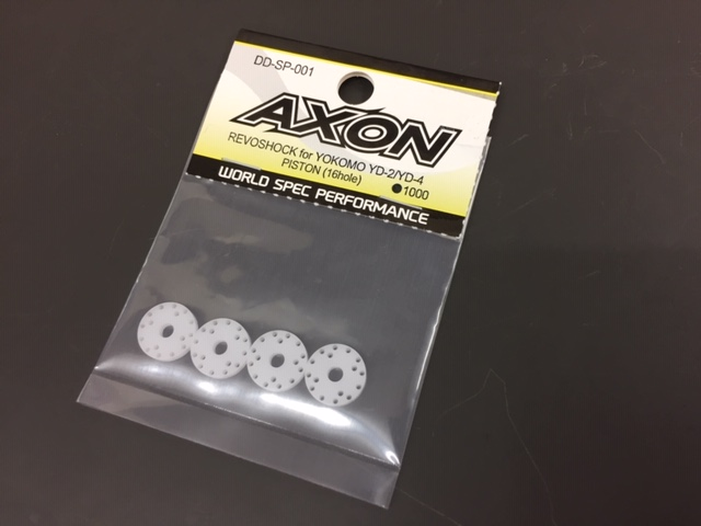 AXON DD-SP-001 REVOSHOCK PISTON (16hole/4pic) for YOKOMO YD-2/YD-4