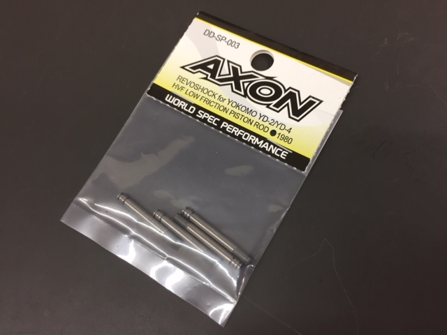 AXON DD-SP-003 REVOSHOCK HVF LOW FRICTION PISTON ROD (4pic) for YOKOMO YD-2/YD-4