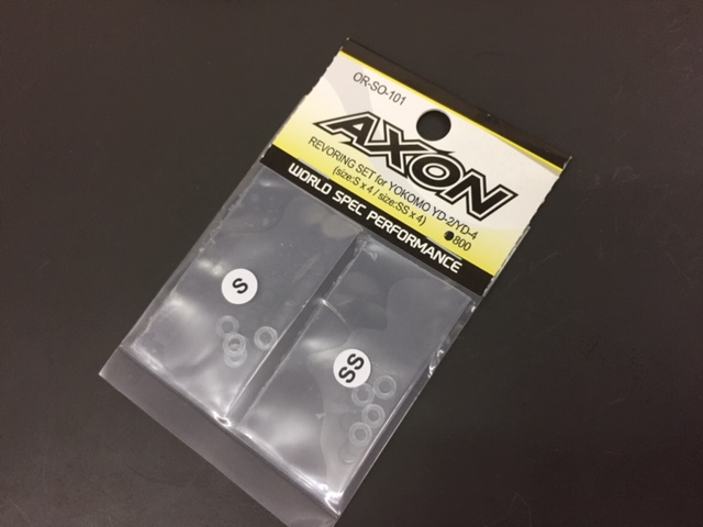 AXON OR-SO-101 REVORING SET for YOKOMO YD-2/YD-4 (size:S x 4 / size:SS x 4)