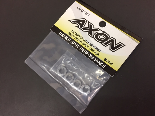 AXON BM-UX-004 ULTRATEX BALL BEARING DRIFT FRONT SPEC 1050 4pic (Size:10mm x 5mm x 4mm)