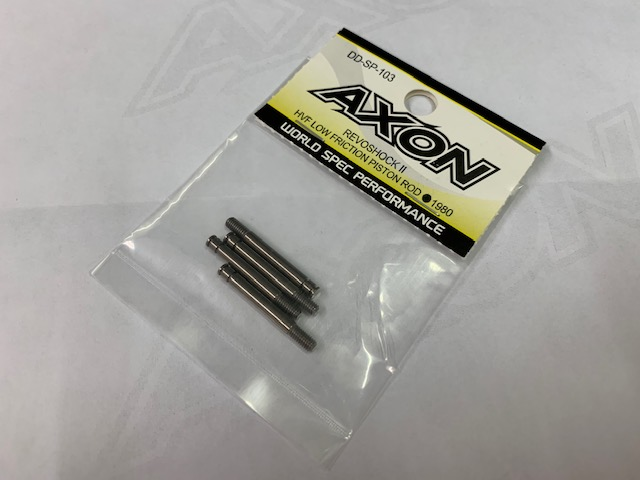 AXON DD-SP-103 REVOSHOCK II HVF LOW FRICTION PISTON ROD (4pic)