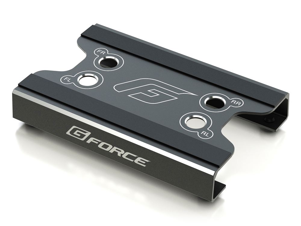 G-FORCE G0103 Maintenance Stand (for 1/10 Touring,1/12 Racing) (Black)