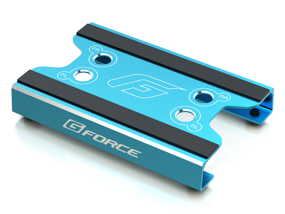G-FORCE G0104 Maintenance Stand (for 1/10 Touring,1/12 Racing) (Blue)