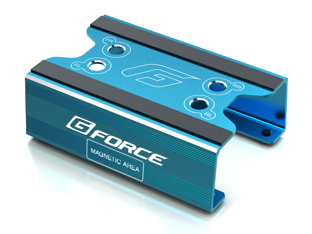 G-FORCE G0106 Maintenance Stand (for 1/8 On Road,1/10 Buggy) (Bl