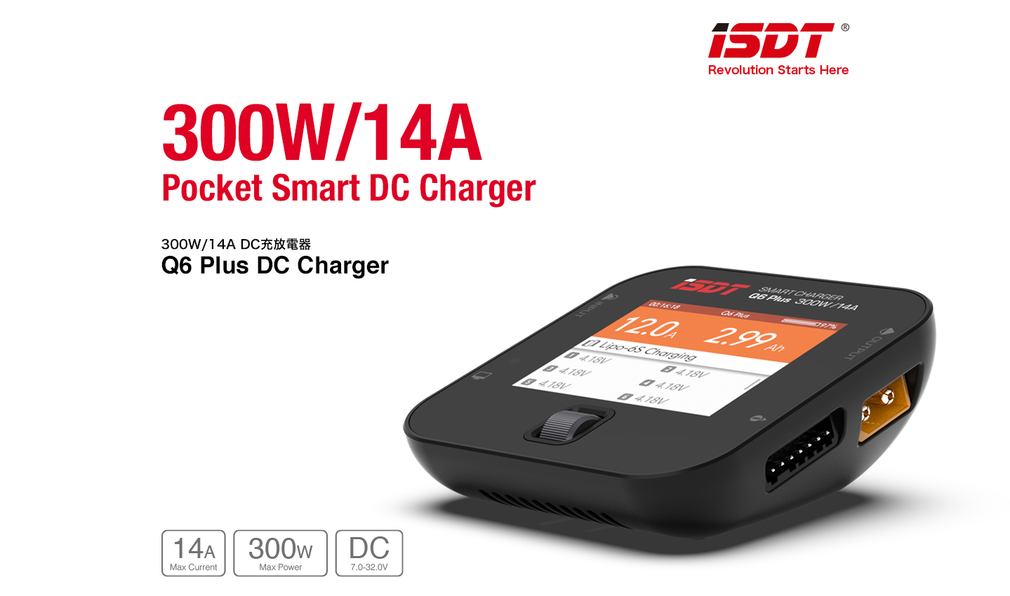 G-FORCE GDT100 (初回限定特価) Q6 Plus DC Charger