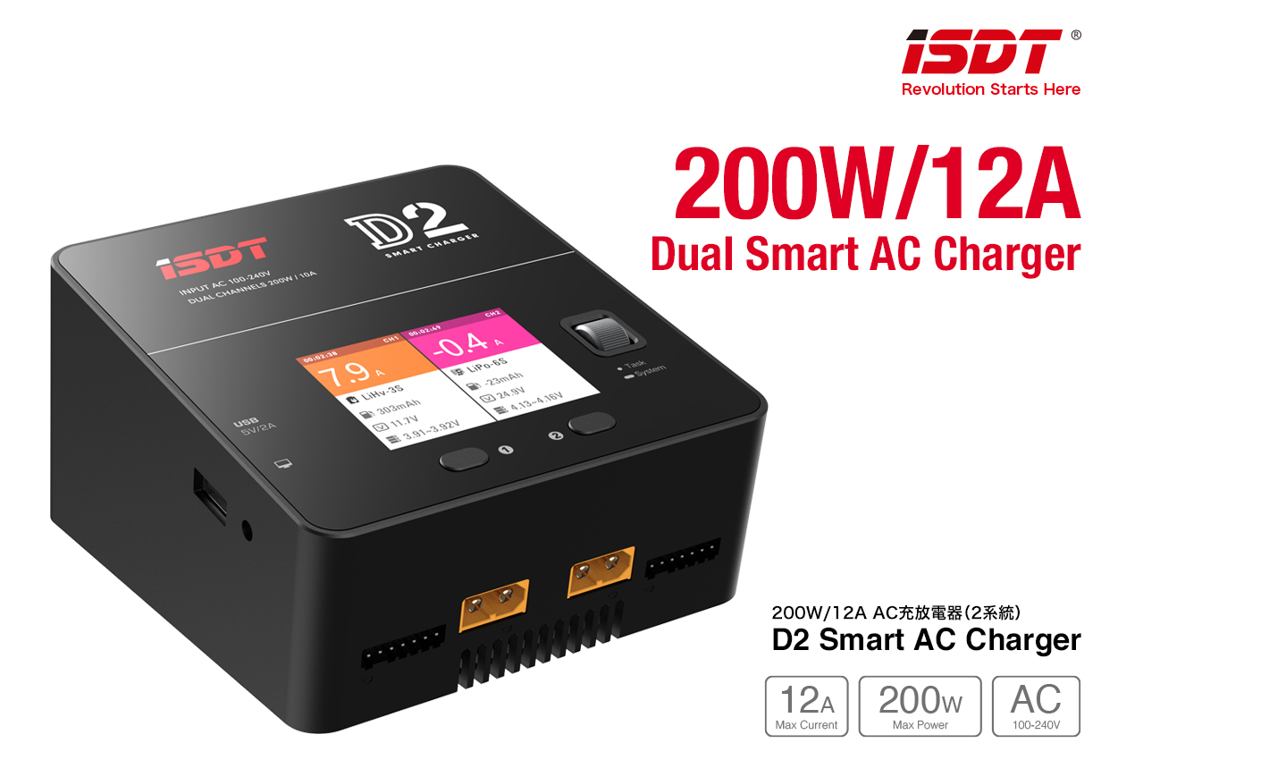 G-FORCE GDT101 D2 Smart AC Charger