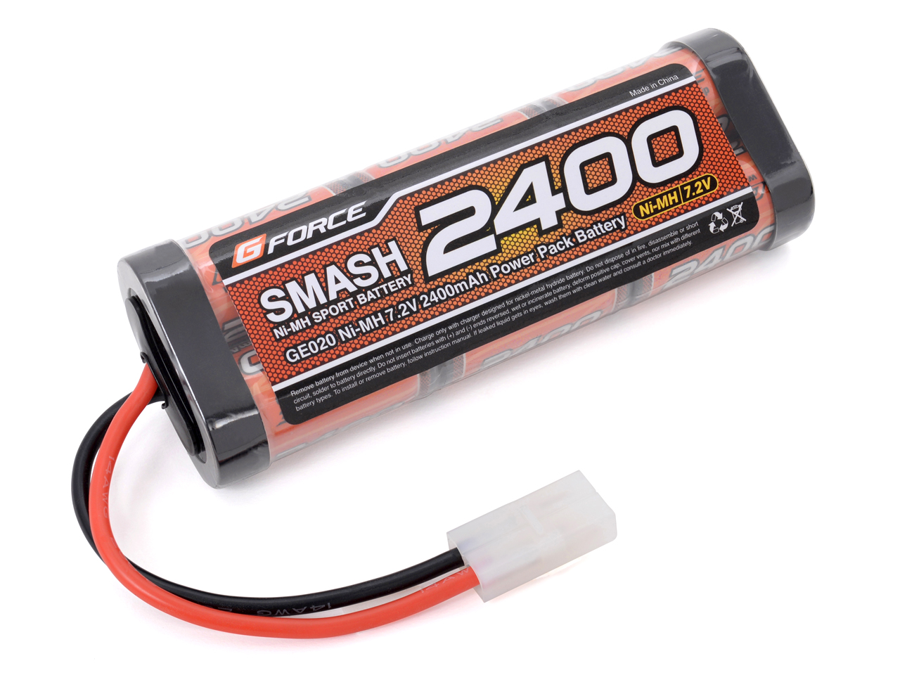 G-FORCE GE020 SMASH NiMH 7.2V 2400mAh