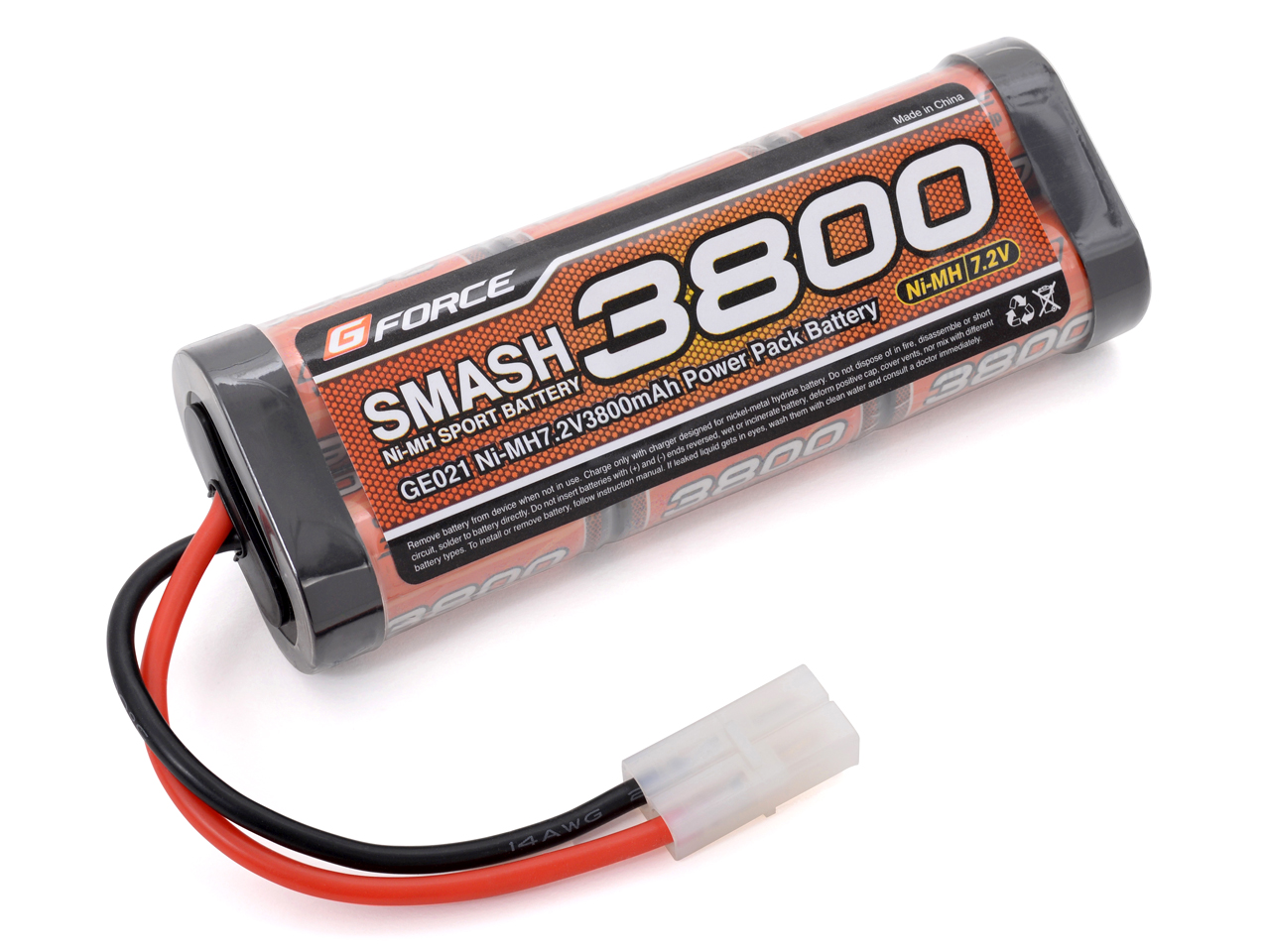 G-FORCE GE021 SMASH NiMH 7.2V 3800mAh