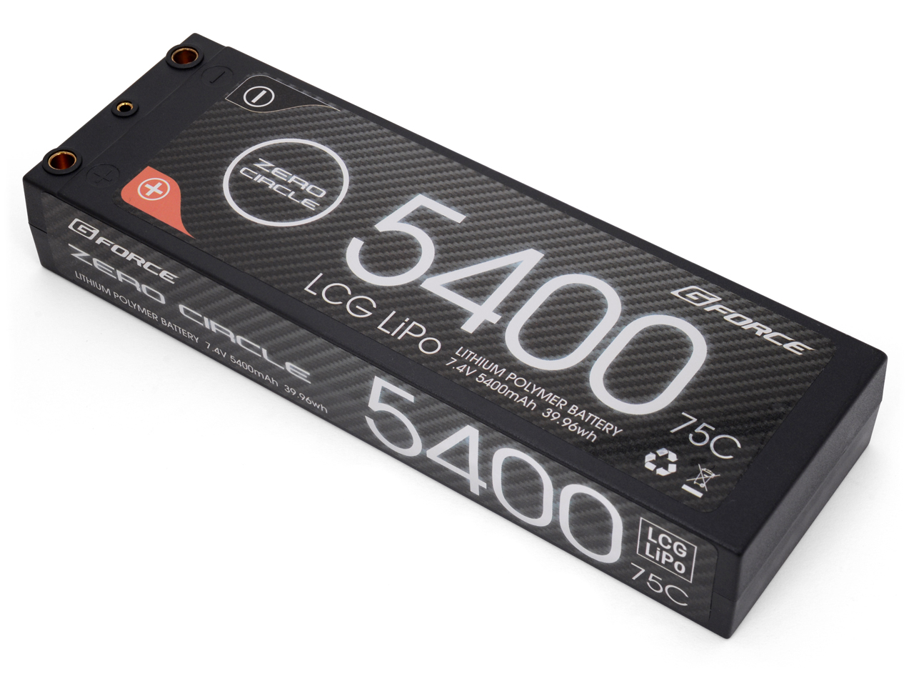 G-FORCE GE220 ZERO CIRCLE LCG 7.4V 5400mAh 75C