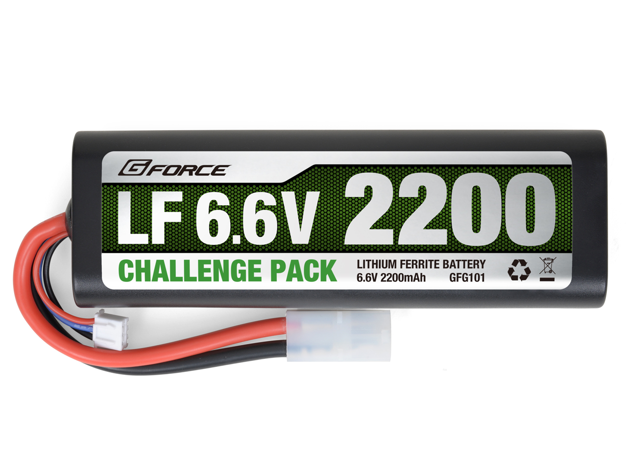 G-FORCE GFG101 LF Challenge Pack 6.6V 2200mAh