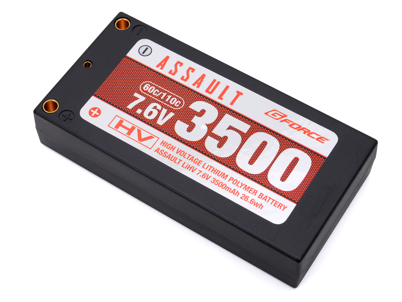 G-FORCE GFG801 ASSAULT LiHV 7.6V 3500mAh (1Sサイズ)