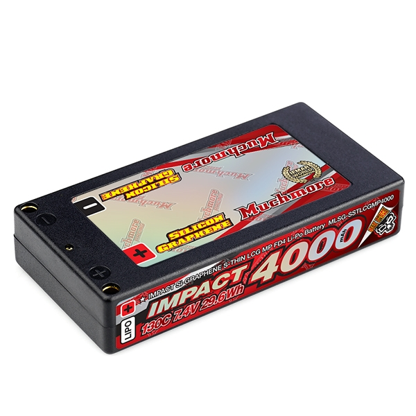 マッチモア MLSG-SSTLCGMP4000 インパクト[IMPACT [Silicon Graphene] Super Thin LCG Max-Punch FD4 4000mAh / 7.4V 130C Hard Case