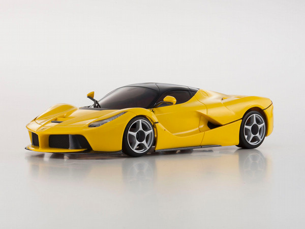 京商 MZP224Y ASC MR-03W-MM La Ferrari Yellow version