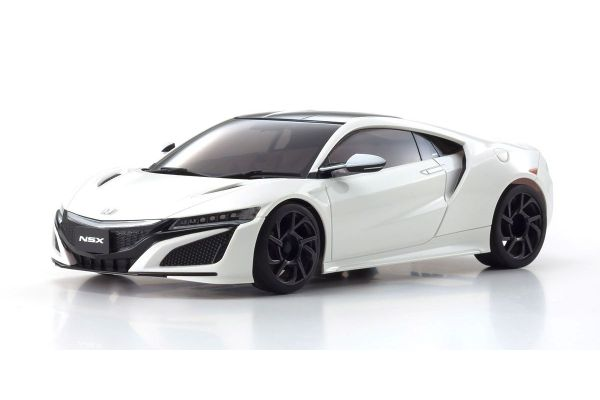 京商 MZP233W ASC MR03W-MM Honda NSX 130Rホワイト