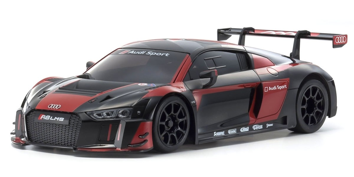 京商 MZP234BKR ASC MR03RWD Audi R8 LMS 2016 Black/Red