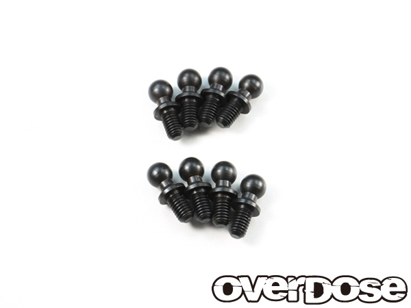 OVER DOSE OD1532a ボールスタッド 4.3×5 (8pcs) ※Vacula/Divall/XEX