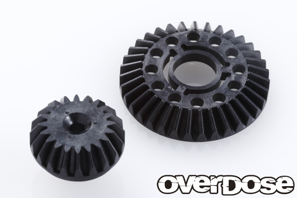 OVER DOSE OD1801 べベルギヤセット (35T/20T)