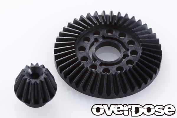 OVER DOSE OD1802 べベルギヤセット (42T/14T)