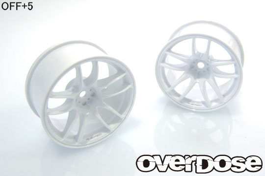 OVER DOSE OD2476 R-SPEC WORK EMOTION CR Kiwami ( ホワイト /OFF+5)