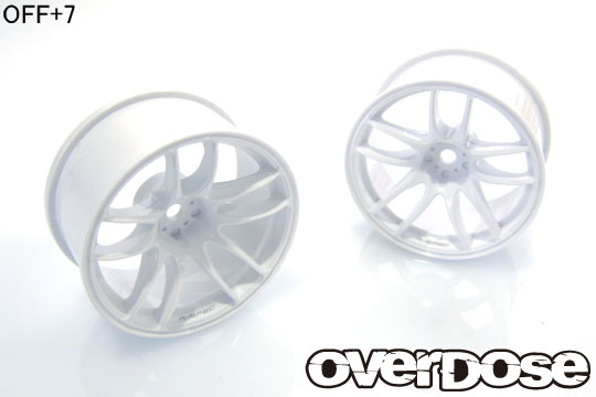 OVER DOSE OD2477 R-SPEC WORK EMOTION CR Kiwami ( ホワイト /OFF+7)