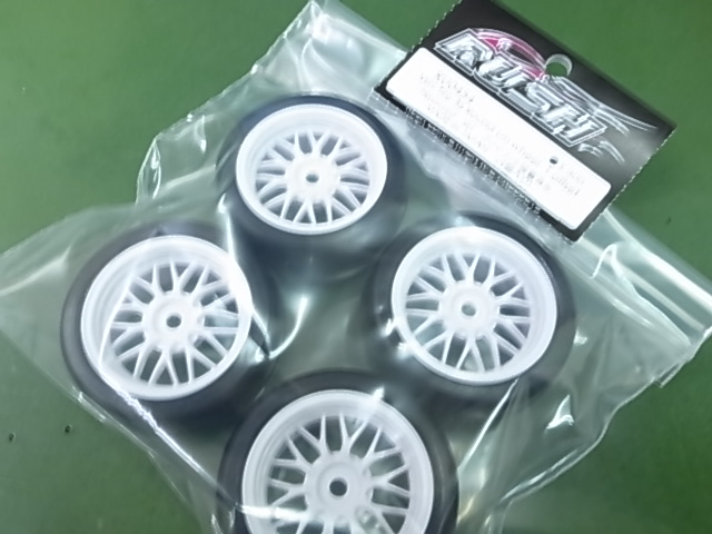 ラッシュ RU-0454 Mini Tire 36 Round lm wheel 1 offset 4pcs