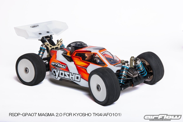 RICKSIDE DESIGN RSDP-GPA07 MAGMA 2.0 BODY FOR KYOSHO TKI4