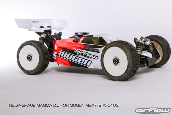 RICKSIDE DESIGN RSDP-GPA08 MAGMA 2.0 BODY FOR MUGEN MBX7/8