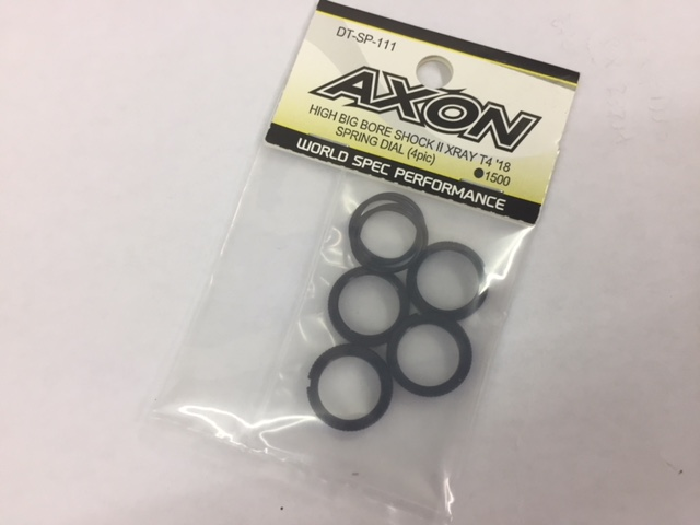 AXON DT-SP-111 AXON HIGH BIG BIRE SHOCKⅡ XRAY T4`18 SPRING DIAL(4pcs)