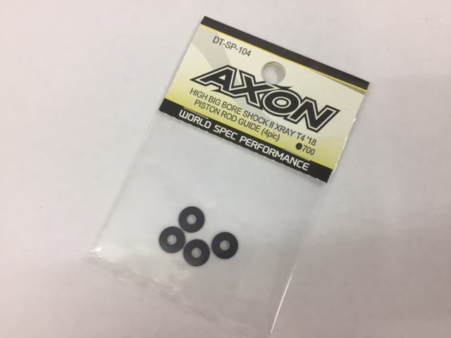 AXON DT-SP-104 AXON HIGH BIG BIRE SHOCKⅡ XRAY T4`18 PISTON ROD GUIDE (4pcs)