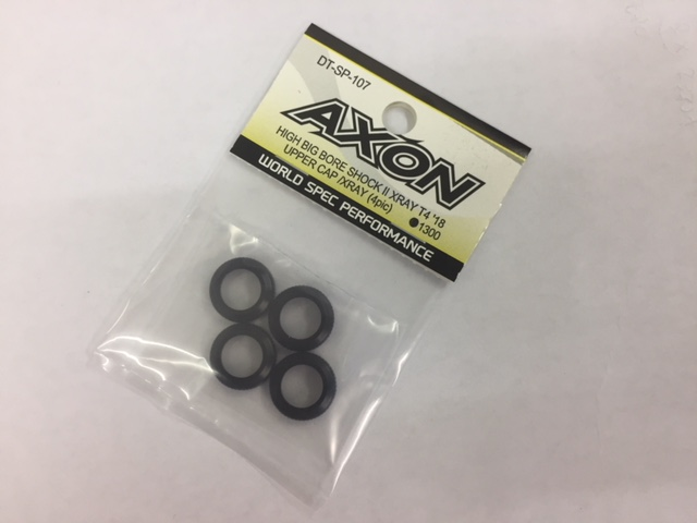 AXON DT-SP-107 AXON HIGH BIG BIRE SHOCKⅡ XRAY T4`18 UPPER CAP(4pcs)
