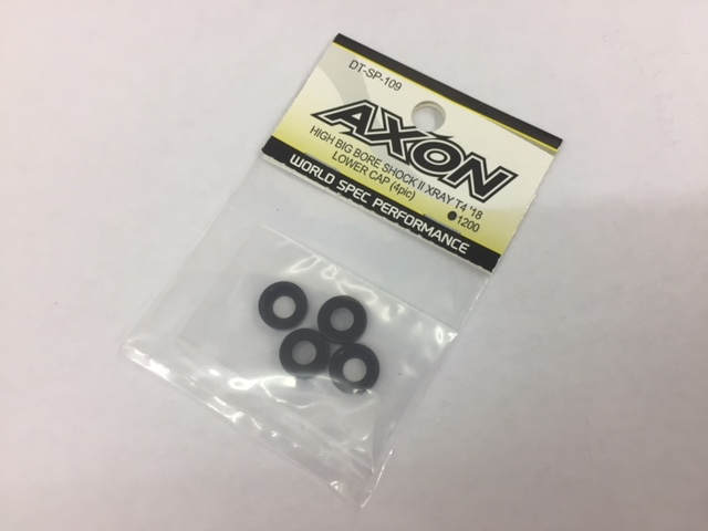 AXON DT-SP-109 AXON HIGH BIG BIRE SHOCKⅡ XRAY T4`18 LOWER CAP (4pcs)