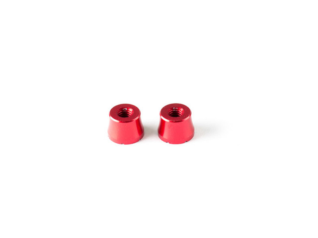 INFINITY T117 PRS ALU POST 5mm (Red/2pcs)