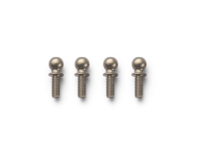 INFINITY T136 ALU BALL END 4.9mm MEDIUM (7075/4pcs)
