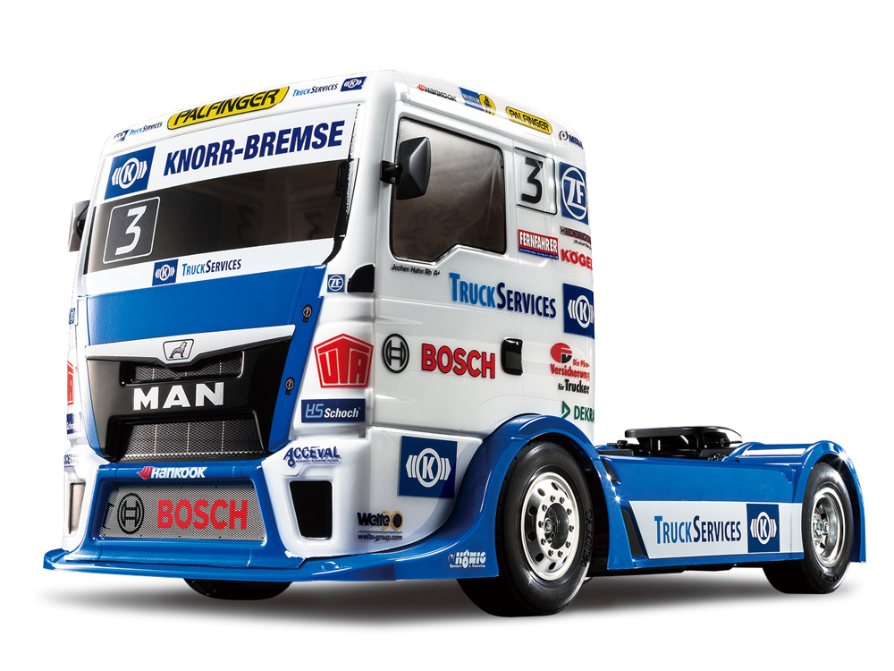 タミヤ 58632 1/14RC TEAM HAHN RACING MAN TGS (TT-01シャーシ TYPE-E)