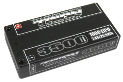 とりおん TB-3500B TRION Li-Po Battery 3500mAh/7.4V/100C