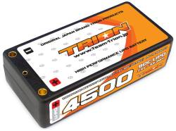 とりおん TB-4500ST TRION Li-Po Battery 4500mAh/7.4V/90C Shorty