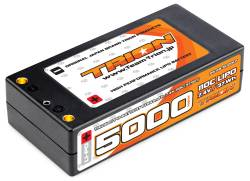 とりおん TB-5000ST TRION Li-Po Battery 5000mAh/7.4V/110C Shorty