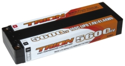 とりおん TB-5600LCG-M5 TRION Li-Po Battery LCG 5600mAh/7.4V/100C/5mm Reversible