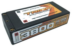 とりおん TB-HV3800STLCG TRION Li-Po Battery 3800mAh/High Voltage 7.6V/120C/LCG