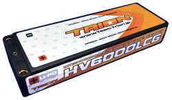 とりおん TB-HV6000LCG TRION Li-Po Battery 6000mAh/High Voltage 7.6V/120C/LCG