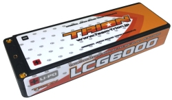 とりおん TB-LCG6000 TRION Li-Po Battery LCG 6000mAh/7.4V/120C/4mm