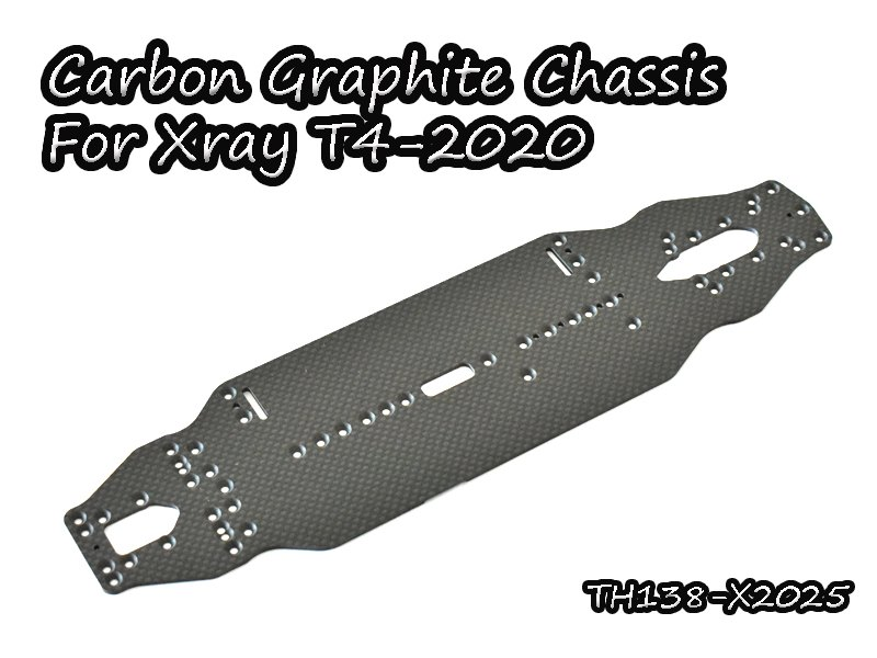 VIGOR TH138-X2025 Carbon Graphite Chassis 2.25mm For Xray T4-2020