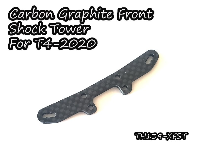 VIGOR TH139-XFST Carbon Graphite Front Shock Tower For T4-2020