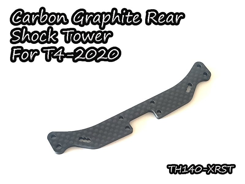 VIGOR TH140-XRST Carbon Graphite Rear Shock Tower For T4-2020
