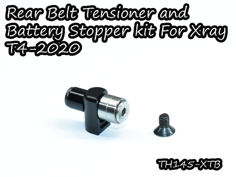 VIGOR TH145-XTB Rear Belt Tensioner and Battery Stopper Kit For Xray T4-2020